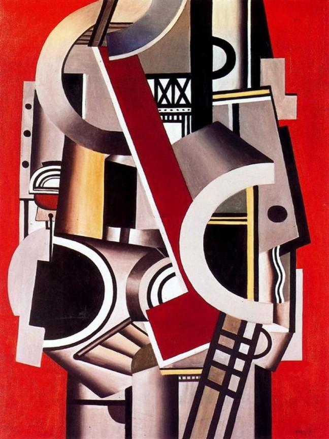 Índice de biografías - Fernand Léger - Elemento mecánico